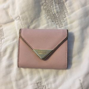 Rebecca Minkoff light pink wallet